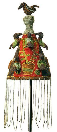Yoruba Beaded Crown, Nigeria