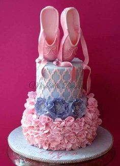 For Her your Little Ballerina birthday cake pictures