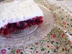Easy To Be Gluten Free   Cranberry Jello Salad.....mag
