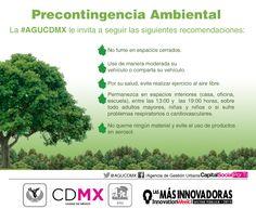 Continua fase de #precontingenciaambiental en la #CDMX.