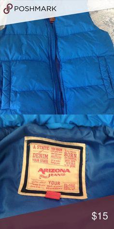Men's Puffer Vest Blue puffer vest for men arizona Jackets & Coats Vests
