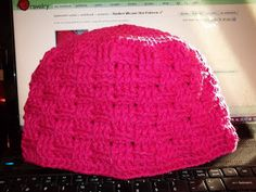 Diamond Crochet: Basket Weave Hat Pattern