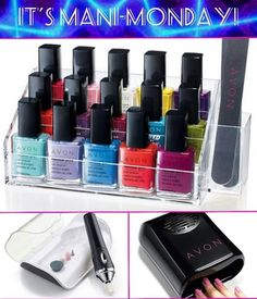 Get your polish fix with Avon! We have a variety of colors, finishes, textures and formulas!  Youravon.com/reneeward25514