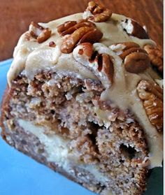 APPLE AND CREAM CHEESE BUNDT CAKE WITH CARAMEL PECAN TOPPING – Fresh Family Recipes