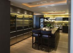 Minotti Gandhara kitchen, Hampstead