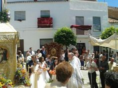 Corpus Christi, Almonaster (Huelva), by @iFandango