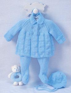 Cables and Checks Set | Yarn | Free Knitting Patterns | Crochet Patterns | Yarnspirations