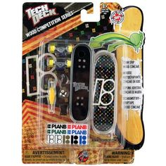 Tech Deck Wood Competition Series [Plan B] $9.99 (save $10.00)