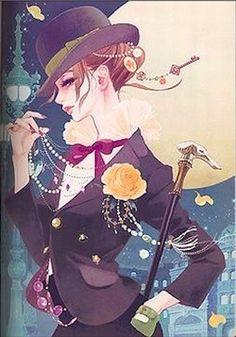 Art by Hiromi Matsuo Art And Illustration, Illustrations, Character Illustration, Geisha Kunst, Geisha Art, Anime Kunst, Manga Art, Anime Art, Comic Art Girls