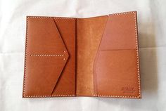 Passport Holder with Card Slot, Sim Card Slot and Boarding Pass Slot by RomacBrothersCo