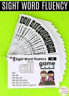 How to Build Sight Word Fluency Build sight word fluency with these simple pyramid sentences. They introduce a phonics word and a sight word used in context to build comprehension and confidence in reading full sentences! Teaching Sight Words, Phonics Words, Sight Word Practice, Sight Word Games, Sight Word Activities, Sight Word Sentences, Simple Sentences, Sight Word Readers, Reading Fluency