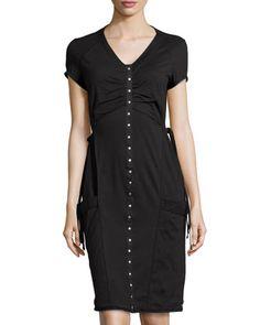 Daybreak Studded Dress, Market Black by Neon Buddha at Neiman Marcus Last Call.