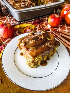 Vegan Pumpkin Caramel Rolls   Fragrant Vanilla Cake