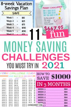 Easy money-saving challenges you must try to boost your savings this year. These money challenges have something for everyone, biweekly, 30 day, 52 week, and a penny challenge. If you want an… More