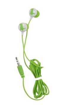 T-Rex Glow-In-The-Dark Earbuds