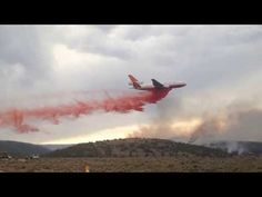 Cool Jet Fights Fire