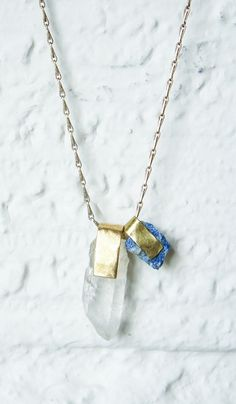 Nallik | Quartz and Lapis Necklace