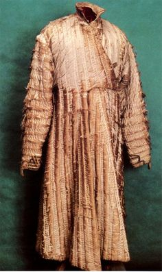 Reconstruction attempt of a Tatar male costume, 15th - 17th century.