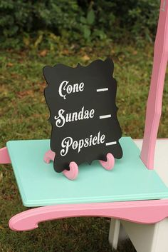 Ice Cream Stand Lemonade Stand Candy Stand by paisleycoutureframes