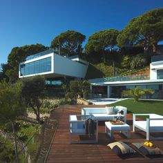 """My house. This awe-inspiring property is nestled amongst the cliffs of one of the most beautiful parts of the Costa Brava, Spain's """"Wild Coast""""."""