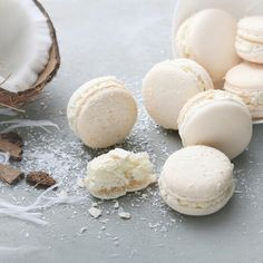 Coconut Macaron by Cofetaria Armand