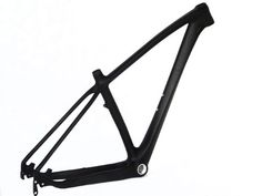 Mountain Bike Frames - Full Carbon UD Matt Matte 29er Mountain Bike MTB 29 Wheel BSA Frame 17 *** Learn more by visiting the image link.