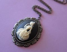 A wonderful cameo necklace inspired by Cinderella via Etsy.