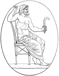 Cronus - *Abode-Mount Othrys. *Symbol-Sickle, scythe, grain, snake, and harpe. *Consort, Rhea. *Parents:Uranus and Gaia. *Siblings.-- *Titans:  Crius, Coeus, HyperionIapetus, Mnemosyne, Oceanus, Phoebe, Rhea, Tethys, Theia, Themis, Hekaton, kheires, Briareos, Cottus, Gyges. *Cyclops:  Arges, Brontes, Steropes, - Other siblings - *Gigantes:Erinyes (the Furies), Meliae -___--Half-siblings : Aphrodite, Typhon, Python, Uranus…