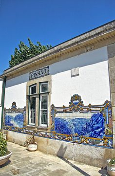 Estação Ferroviária do Pinhão - Portugal by Portuguese_eyes, via Flickr