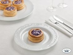 #Apps ....Vol-au-Vents with Red Radicchio and Fondue