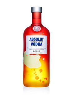 Absolut Unique: A Splash of Vodka