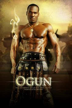 Orishas by Noire 3000 aka James C. Lewis - Ogun