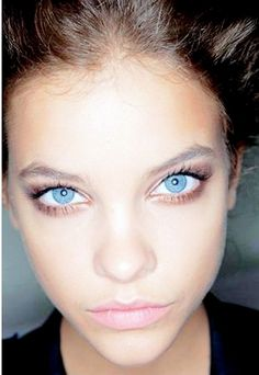 Barbara Palvin's eyes are insanely gorgeous in this photo.