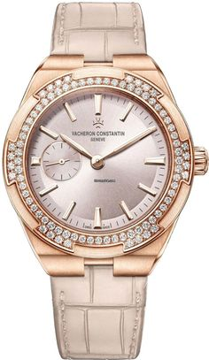 Vacheron Constantin [NEW][2016 NOVELTY] Overseas Automatic 37mm Ladies 2305v/000r-b077 (Retail:US$39,500) ~ LADIES SPECIAL: HK$227,000