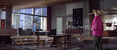 """From """"Thunderball""""  Love pretty much everything about this room."""