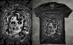 #medusa #tshirt #unrestclothing