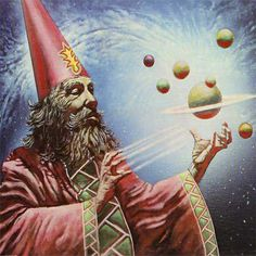 wizard, ??? the red, expert of the heavenly bodies