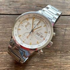 [SALE!] $1775.0 IWC GST REF. 3707 CHRONOGRAPH WATCH 100% GENUINE 40 MM CAL. 7922 #preownediwcwatches #iwcwatchesforsale G Shock Watches, Sport Watches, Cheap Watches, Watches For Men, Best Presents For Men, Breitling Watches, Man Cave Gifts, Gucci Watch, Rose Gold Watches