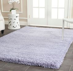 Shag Collection SG140L Color: Lilac  #rug #carpet #safavieh #safaviehrug  #trendy #homedecor #homeaccents #shophome #livingroom #diningroom #bedroom #kitchen #office #rugsforyourhome #shag #shagrug #shagcarpet #softshagrugs #shagrugdesign #stunningshagrugs #safaviehshag #safaviehshagrugs #trendyrugs #bestrugs #bestrugprices