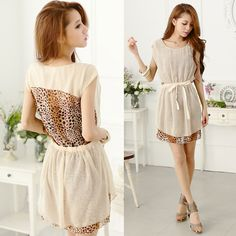 Leopard Chiffon Dresses..... Summer, here we come