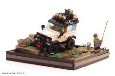 Land Rover Defender - Pixel Fox