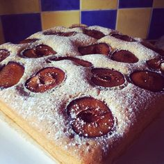Plum Cake recipe perfect for any Sunday baking session. This cake was one that I couldn't wait to get back and bake after a month of travelling in Europe. Plum Cake, Eastern Europe, Slovenia, No Cook Meals, No Bake Cake, Doughnut, Cake Recipes, Travelling, Culture