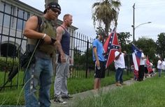 Armed White Supremacists Protest Black Lives Matter by Harassing the Texas NAACP