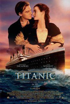Titanic 3D Movie Poster 2012~James Cameron~Leonardo DiCaprio~Kate Winslet~Rose DeWitt Buckater~Jack Dawson