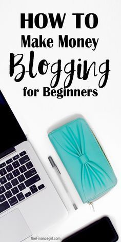 How to make money blogging for beginners Want to earn some money for your blog? This guide will give you some ideas how to!