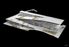 Kengo Kuma & Associates, Architetti Pedrozzi e Diaz Saravia — LINKAGE — Image 2 of 13 — Europaconcorsi