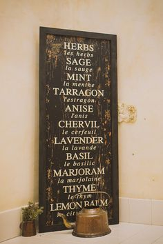 rustic sign as wedding decor #rusticwedding #weddingdecor #weddingchicks http://www.weddingchicks.com/2014/02/21/classic-pink-and-gold-wedding/