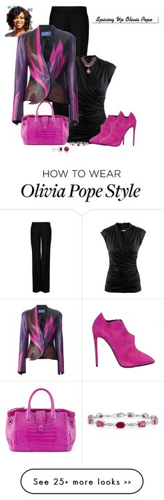 """""""Spicing Up Olivia Pope"""" by marion-fashionista-diva-miller on Polyvore"""