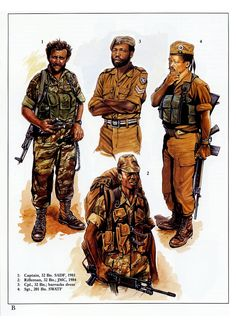 Military Uniforms, Military Art, Military History, Historical Illustrations, War Image, Tactical Survival, Cold War, Dieselpunk, Soldiers