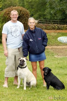 Zara and Mike Tindall, the Queen's grandaughter